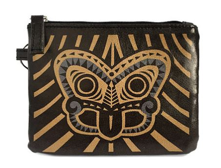 Coin Purse - Gold Tiki