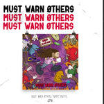 Choirboy Dank & Blockhead - Must Warn Øthers Poster