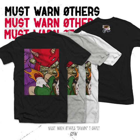 "Choirboy Dank & Blockhead - Must Warn Øthers ""DEMØN"" T-Shirt"