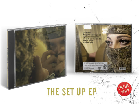 Choirboy Dank - The Set Up (Hardcopy) CD