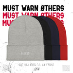 "Choirboy Dank & Blockhead Must Warn Øthers - ""LIL MWØ"" - Cuffed Beanie"