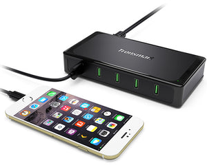 5-Port Qualcomm QuickCharge 2.0 Desktop Charger