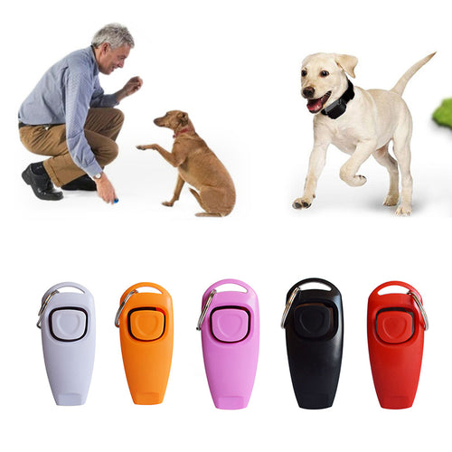Dog Training Whistle Clicker