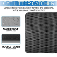 Load image into Gallery viewer, Pawico™ Double Layer Cat Litter Mat