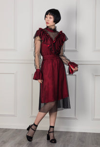 Elizabeth A-line tulle dress - wolinska-london