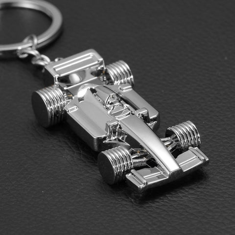 F1 Car Keychain