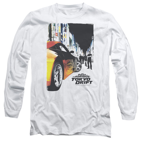 Tokyo Drift - Movie Poster Long Sleeve Shirt