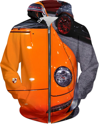 Orange Car Hoodie
