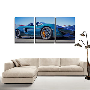 McLaren 720S - 3 Panels Canvas Prints Wall Art for Wall Decorations