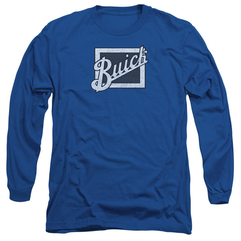 Buick - Distressed Emblem Long Sleeve Shirt