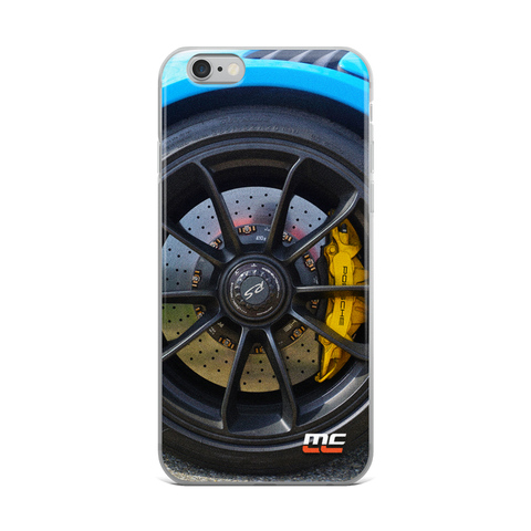 GT3 RS Wheel iPhone Case