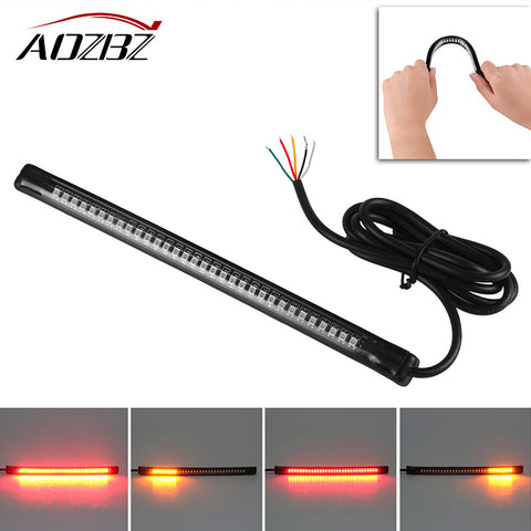 Universal LED Motorcycle Brake Lights/Turn Signal Light Strip