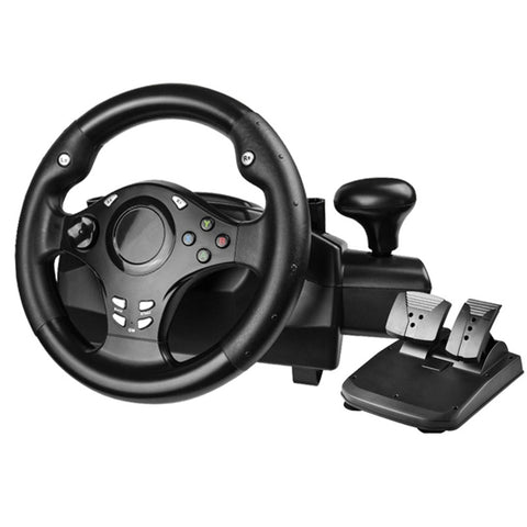 Racing Game Steering Wheel (270 degrees of rotation)