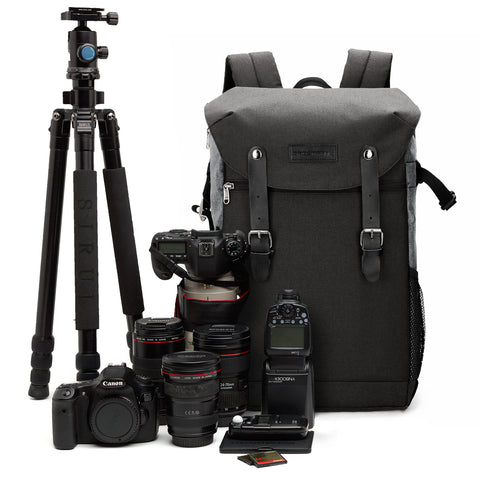 Multifunctional DSLR Camera Backpack