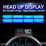 OBD2 Car Head Up Display C500 Vehicle-Mounted HUD Automotive Universal Display Reflection Projector