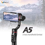 Wewow A5 3-Axis Handheld Smartphone Phone Gimbal