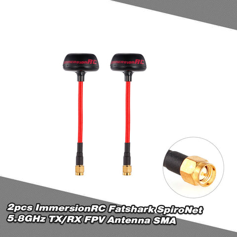 Fatshark 5.8GHz FPV Antenna SMA for QAV250 RC FPV Racing Drone Goggles