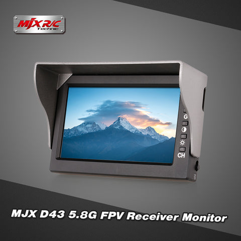 5.8G FPV Receiver Monitor 4.3 inch Display
