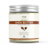 Viva Naturals Organic Shea Butter 16oz front of jar