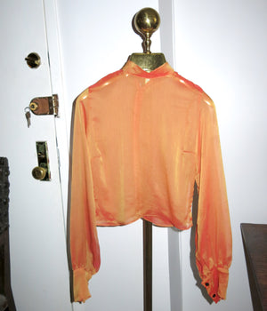 copenhagen top - iridescent red orange