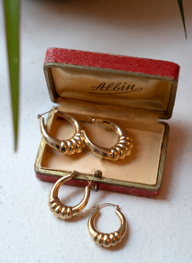 gold hoops 13