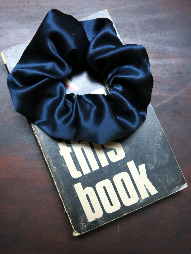 load image into gallery viewer, vintage fabric scrunchie ♡