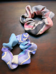 vintage fabric scrunchie ♡