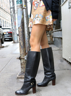 load image into gallery viewer, vintage knee boots collection