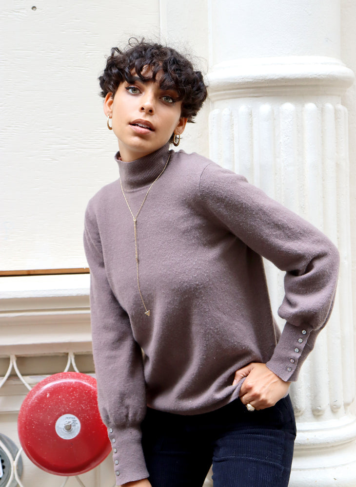 load image into gallery viewer, paris sweater - taupe