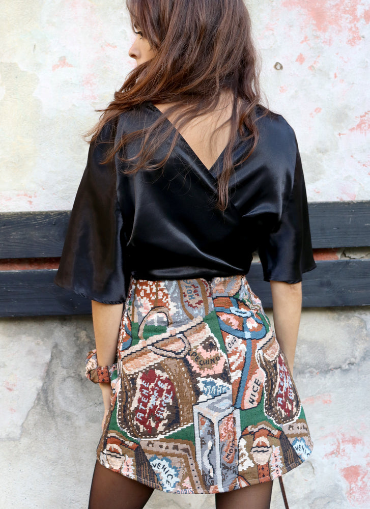 load image into gallery viewer, chelsea skirt - euro baggage