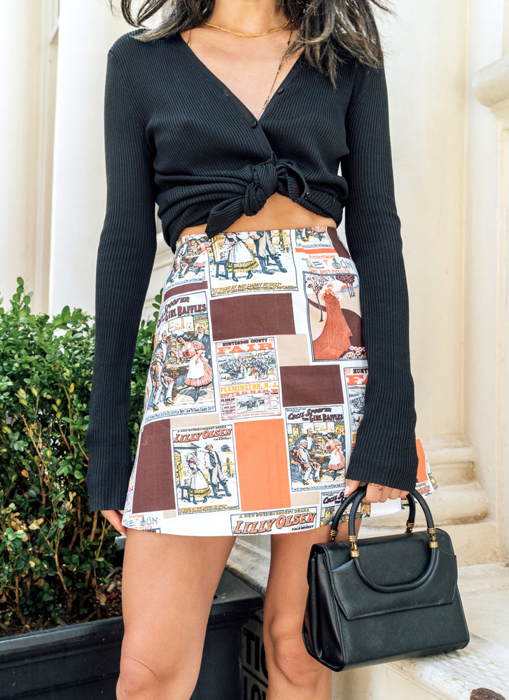 load image into gallery viewer, chelsea skirt - new jersey ads