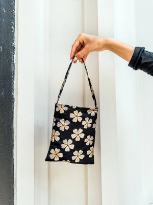 load image into gallery viewer, paris bag - japanese floral