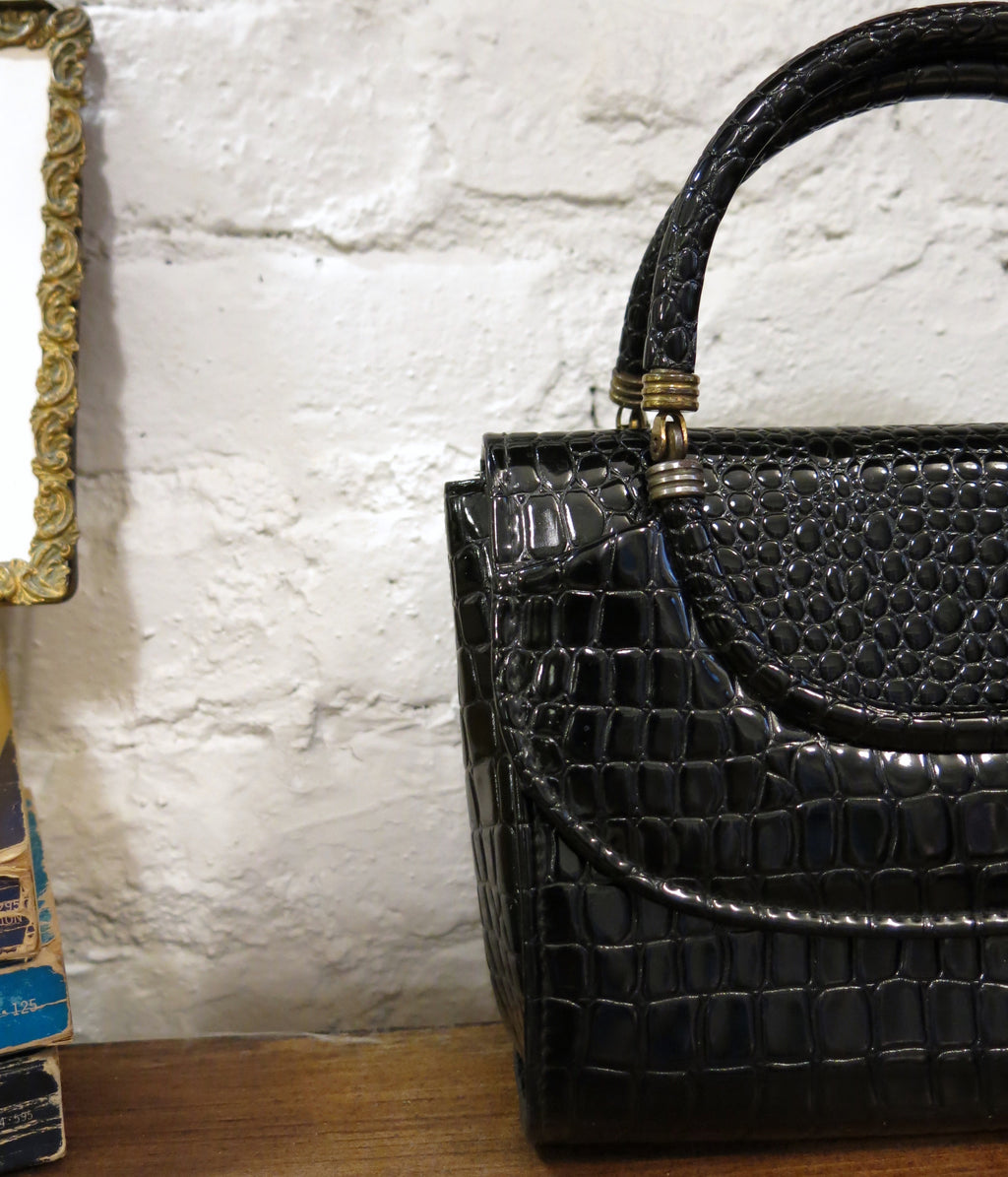 new amsterdam bag - croc