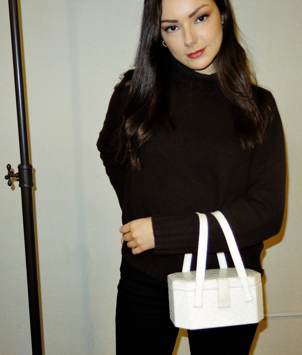lutetia bag - white