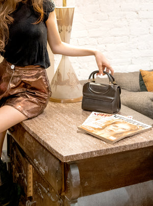 load image into gallery viewer, new amsterdam bag - smooth brown