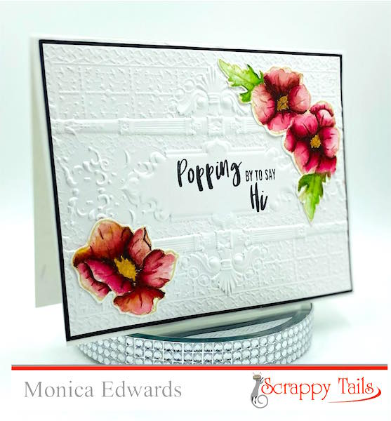 Watercolor Poppy Card