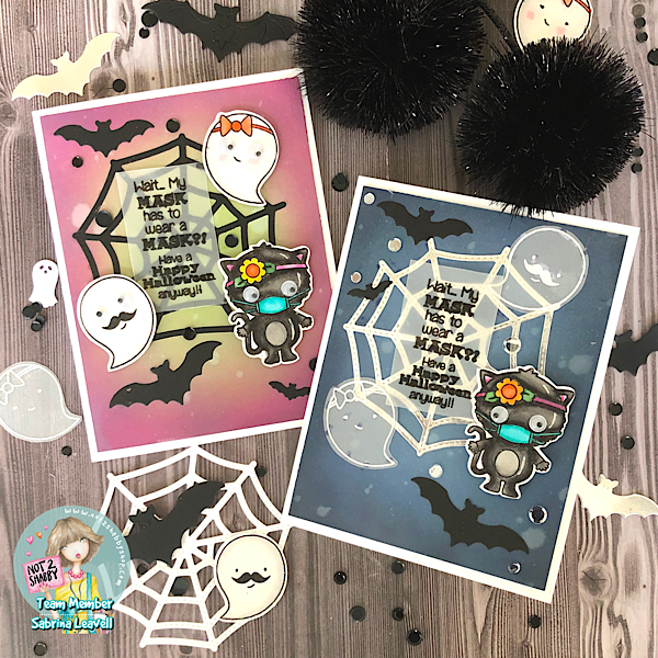 Funny Corona Themed Halloween Card Set