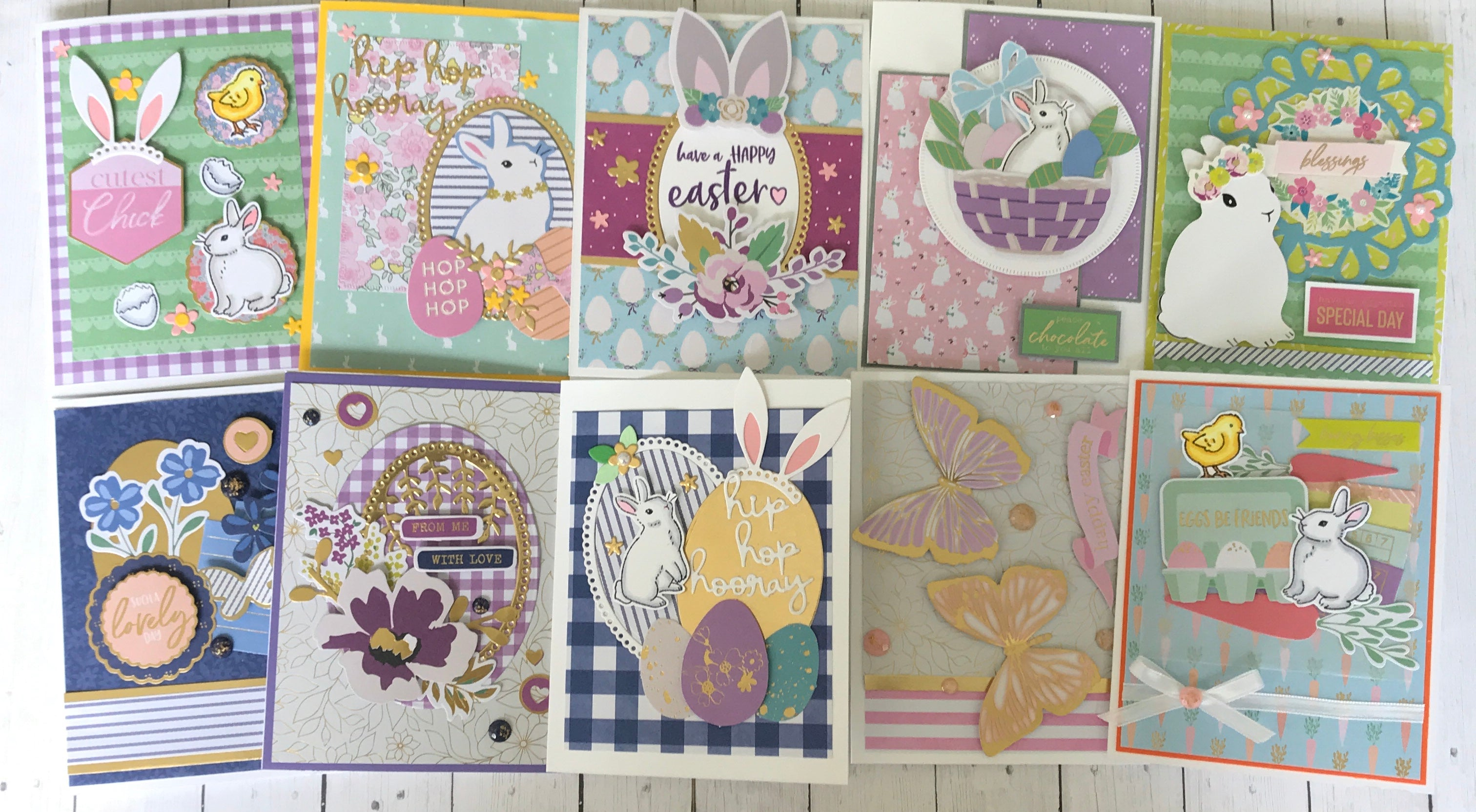 "Spellbinders March 2020 | ""Feeling Hoppy"" 