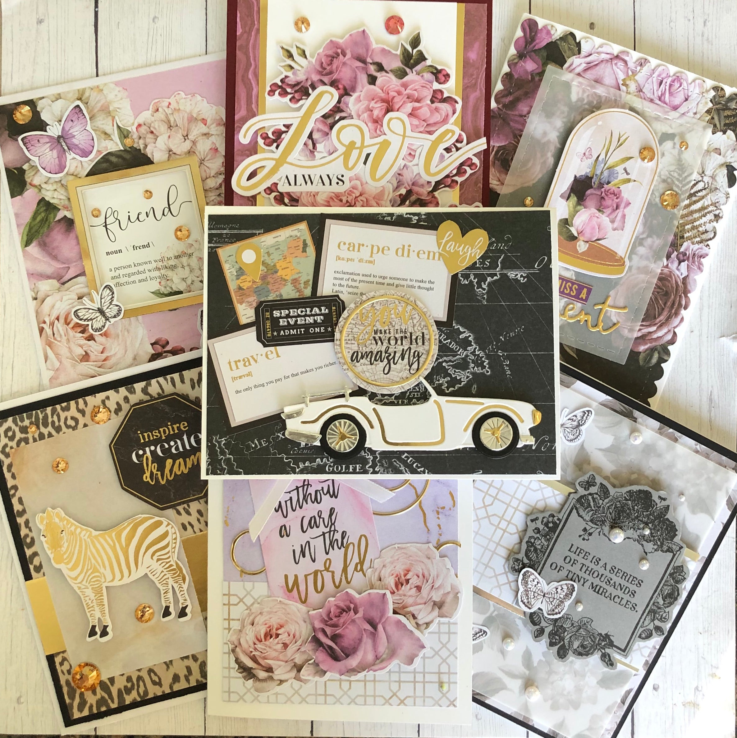 Spellbinders January 2020 | 10 Cards 1 Kit