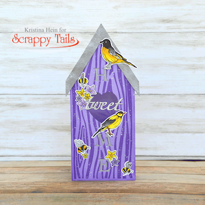 Tweet Slimline Pop up Bird House