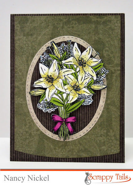 Traditional Easter Lily Card