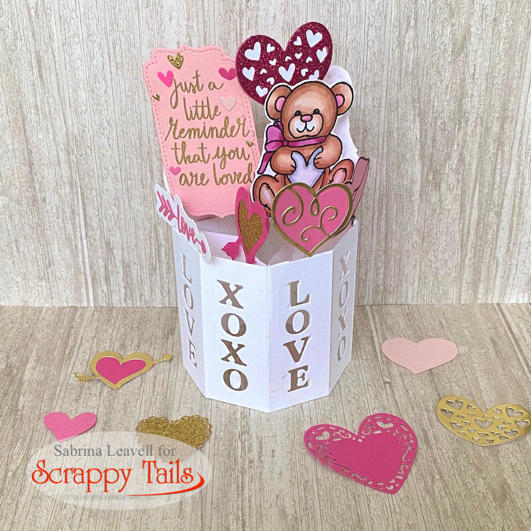 Scrappy Tails Sneak Week | Pop Up Vase Die Set