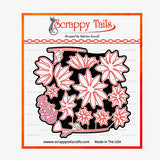 Whimsical Layering Daisies dies - Scrappy Tails Crafts