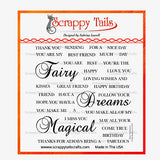 Fairy Sentiments - Scrappy Tails Crafts