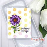 Oopsy Daisies 6x6 Stamp and Coordinating Die Bundle