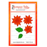 Outline Poinsettia dies - Scrappy Tails Crafts