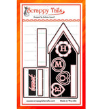 Slimline Bird House Pop Up die - Scrappy Tails Crafts