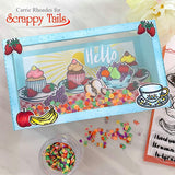 Slimline Shadow Box Craft Die