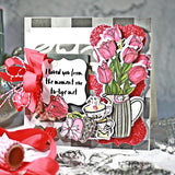 Timeless Tulip 6x6 Stamp Set