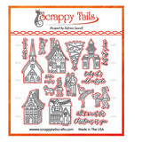 German Winter Village Coordinating Craft Die